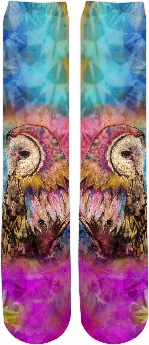 Spectrum Owl Mirrored