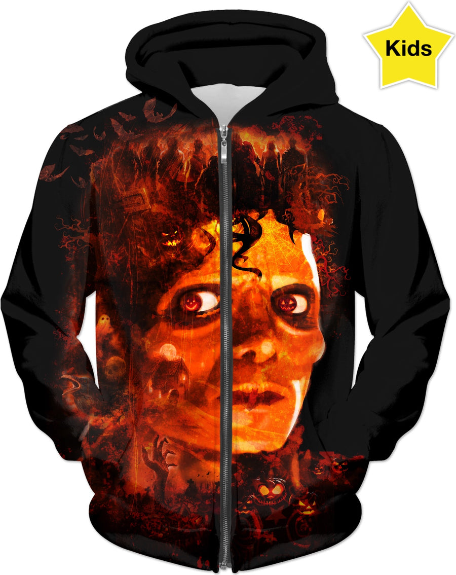 Jacko Lantern Custom  Halloween Kids Hoodie #ROHalloweenContest