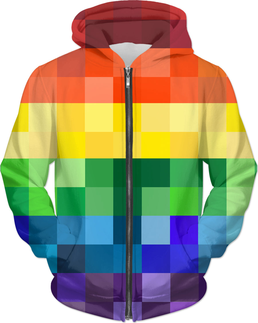 Gamer Pixelated Rainbow