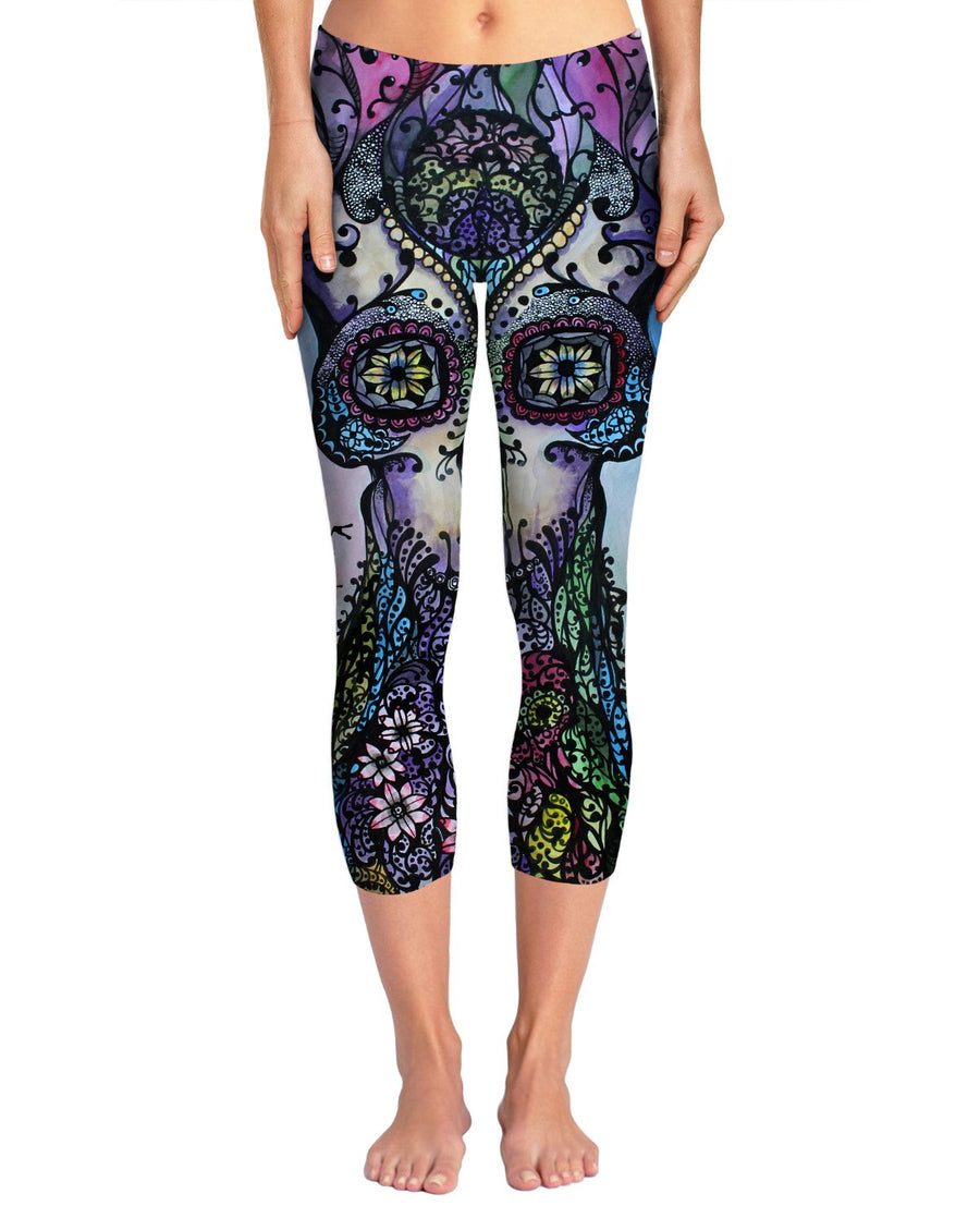 Garden of Good Intent Yoga Pants