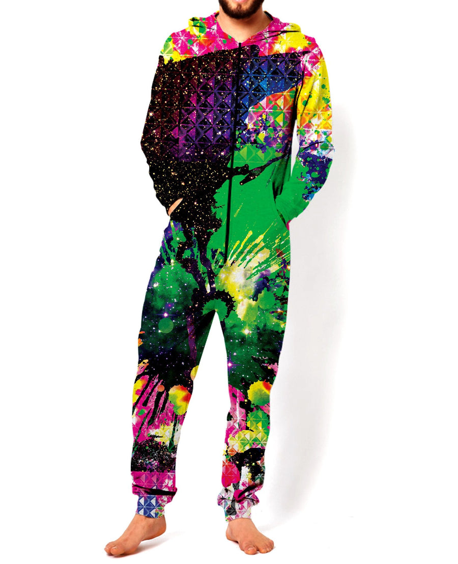 Splatter Space Onesie