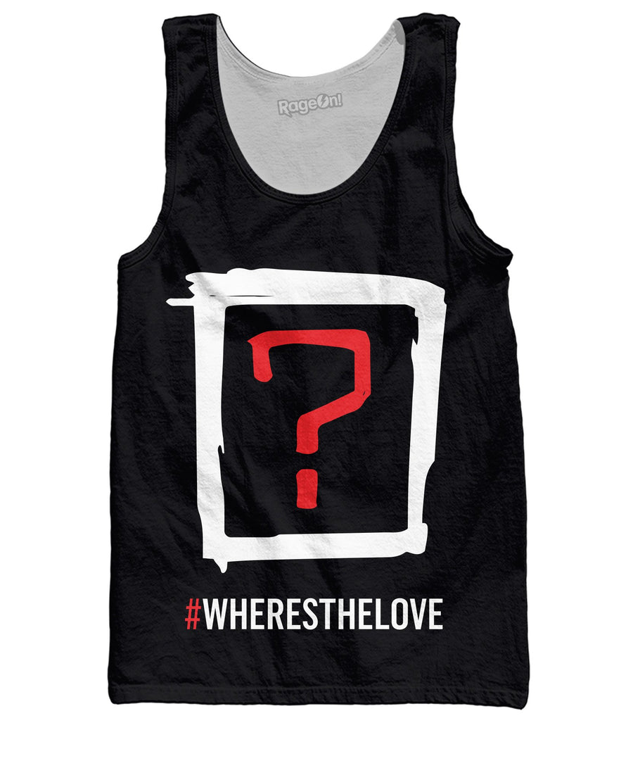 Where's the Love Tank Top