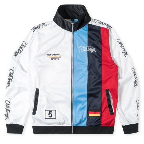 Club Foreign NYC M5 Stripes Jacket - White
