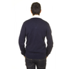 V 1969 Italia mens V neck sweater 9803 SCOLLO V BLU NAVY