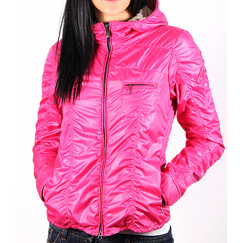 Hogan ladies jacket with hood KJW12268030BSSL605