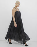 FOLD ON YOU PLEATED MAXI DRESS