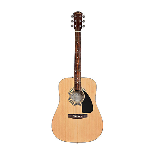 Fender FA-115 Dreadnought Acoustic Guitar Pack, Natural