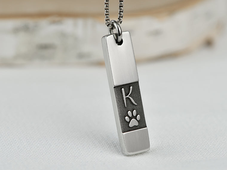 Custom Dog Loss Necklace for Dog Memorial Gift