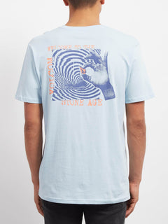 Courtesy  T-shirt - Arctic Blue