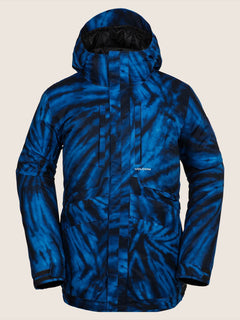 Fifty Fifty Jacke - Blue Tie-Dye