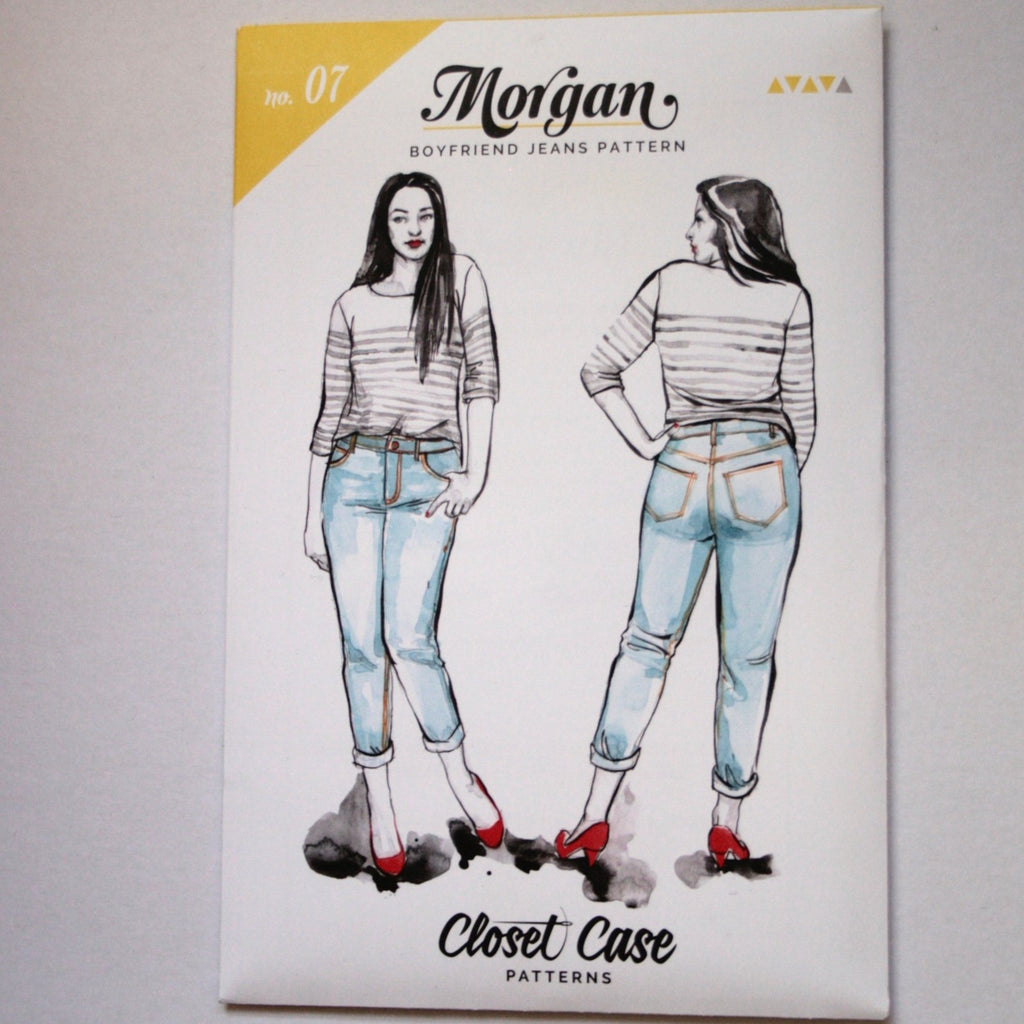 Morgan Jeans pattern by Closet Case