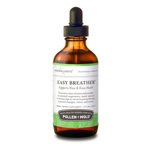 Upper Respiratory Health – Easy Breather Herb Drops (4 oz.) Support Healthy Nose and Sinuses Against Pollen and Mold