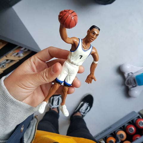 All Pro NBA Big Shot Bendable Figures