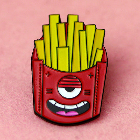 Crappy Fries Pin