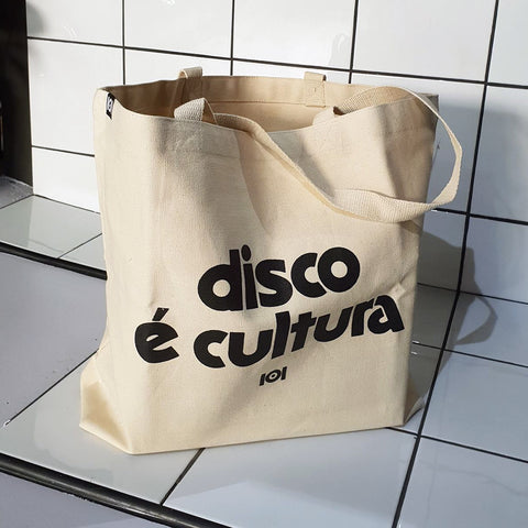 Disco é Cultura Tote Bag
