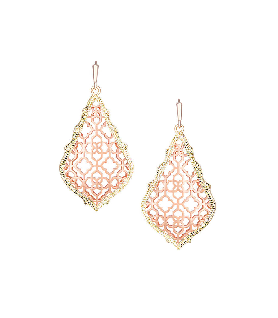 Kendra Scott Addie Earrings In Rose Gold