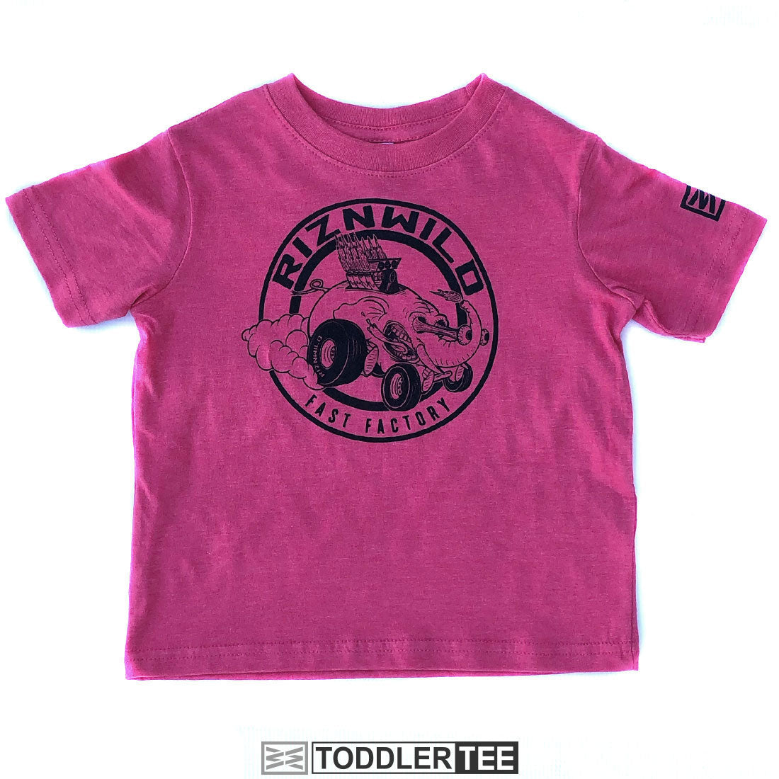 Elefast Toddler Soft Tee in Pink