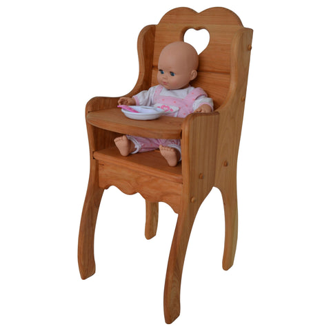 Dolly's High Chair in Hardwood-Elves & Angels