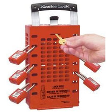 Latch Tight™ Group Lock Box, Wall-Mount or Portable - Industrial Labelling supplies