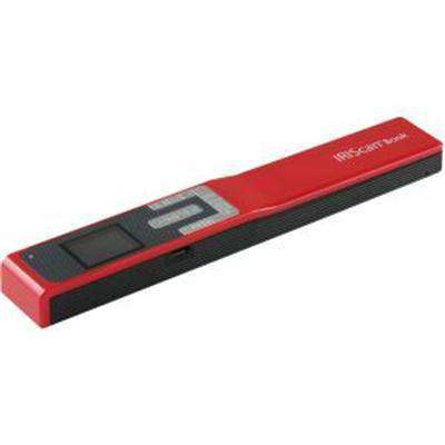 IRIS Iriscan Book 5-Red Portable Document And Photo Scanner
