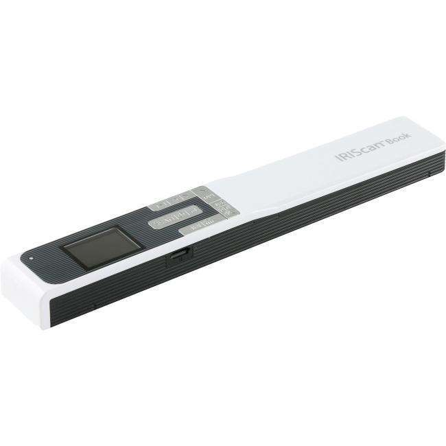 IRIS Iriscan Book 5-White Portable Document And Photo Scanner