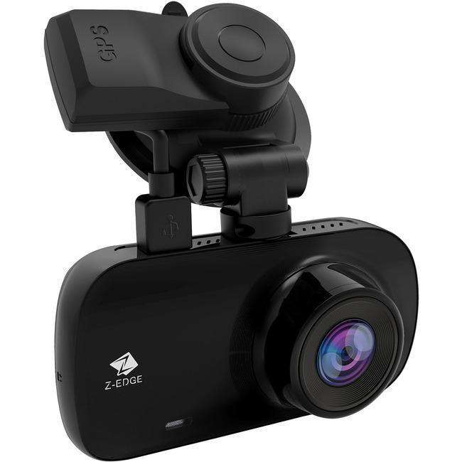 Z-EDGE Z3G Quad HD Car Dash Camera with GPS