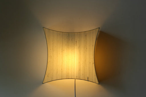 Curvy Silk Wall Lamp