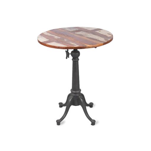 Round Top Adjusting Table