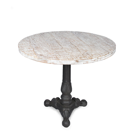 Wooden Top Round Table