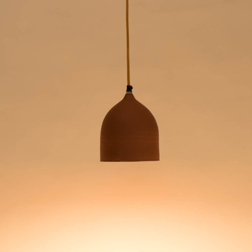 Mini Dome Terracotta Pendant Lamp