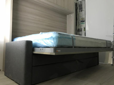 Wall bed designed for hospitality by Spaceman