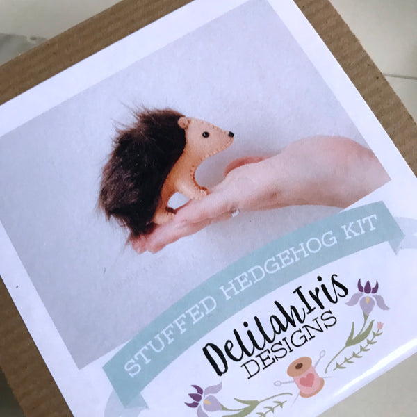 Sewing Kit: Felt Hedgehog