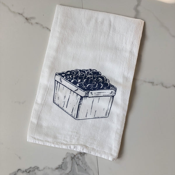 Tea Towel - Blueberries