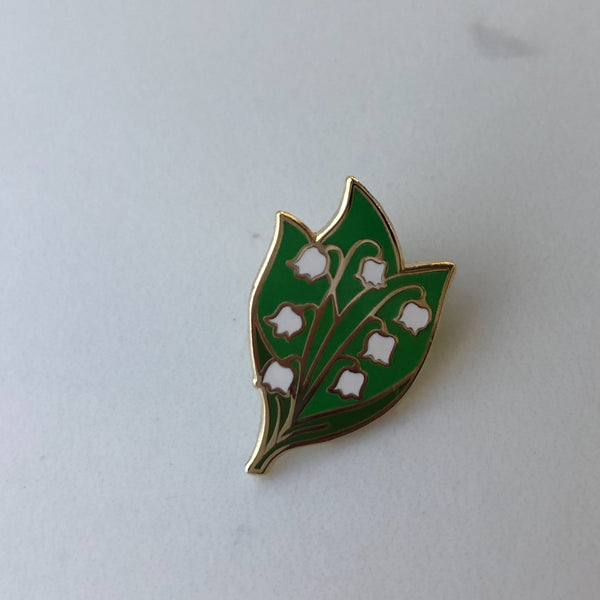 Lapel Pin - Lily of the Valley