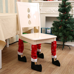 Table - Chair Leg Covers Xmas Party Decoration - 1pc