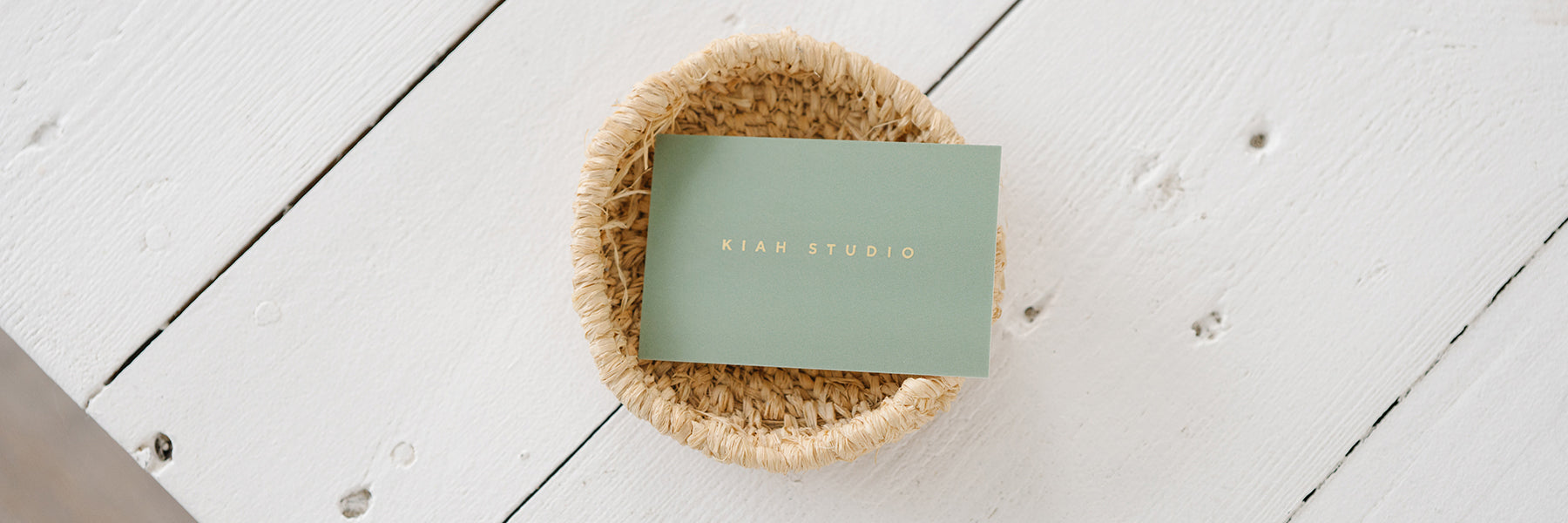 Contact details for Kiah Studio
