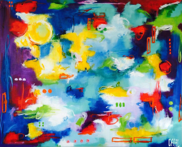 The sky is the limit ( 160x130 cm )