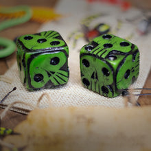Load image into Gallery viewer, Oogie Boogie Dice - Green