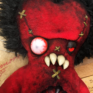 Limited Edition Burning Love Voodoo Doll