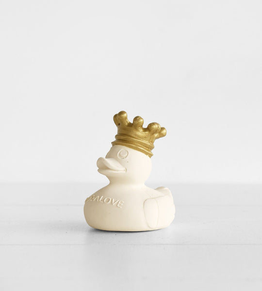 Royal Rubber Duck | White