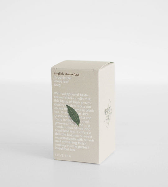 Love Tea | Loose Leaf 100g | English Breakfast