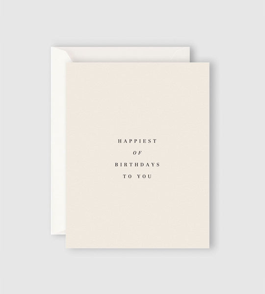 Father Rabbit Stationery | Happiest of Birthdays to You Card