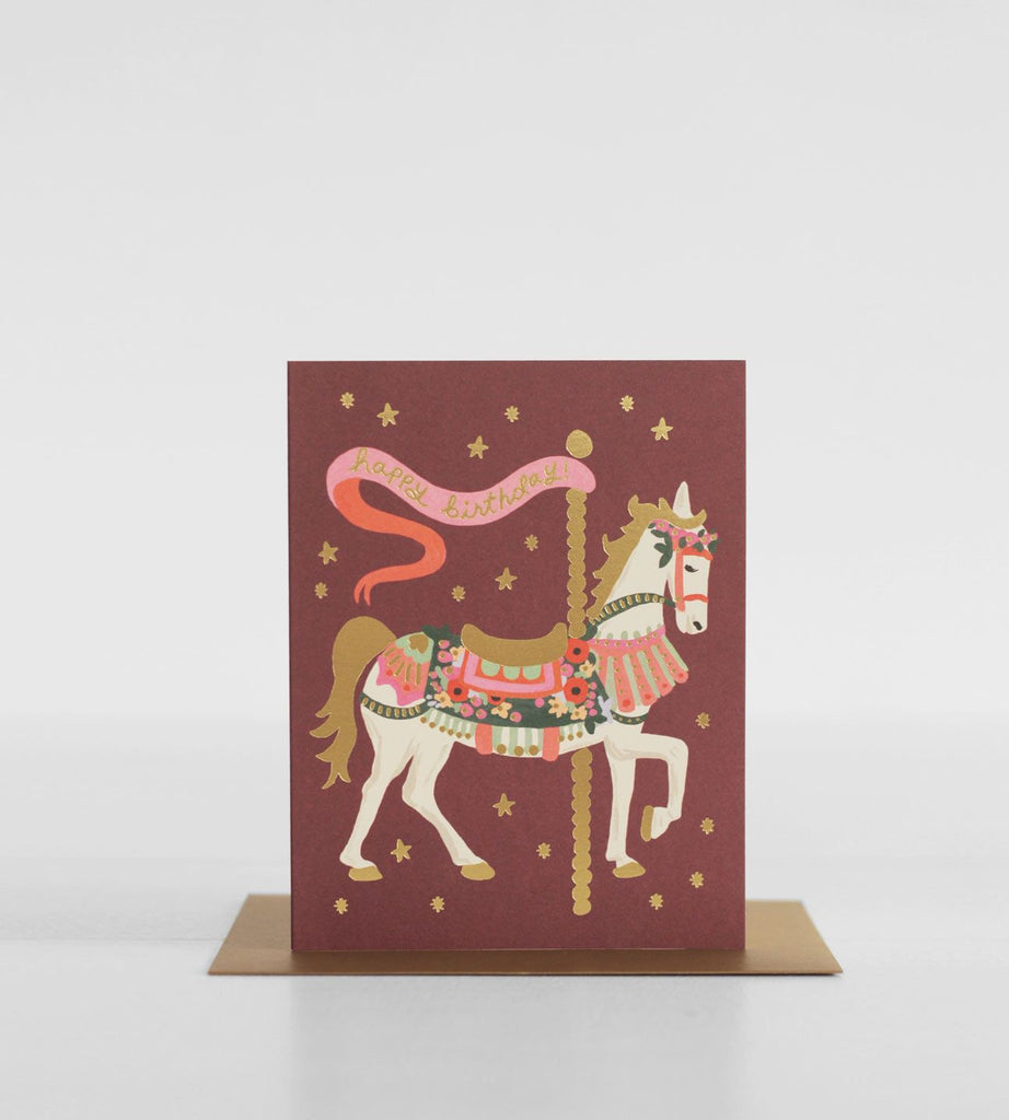 Rifle Paper Co. | Carousel Birthday Card