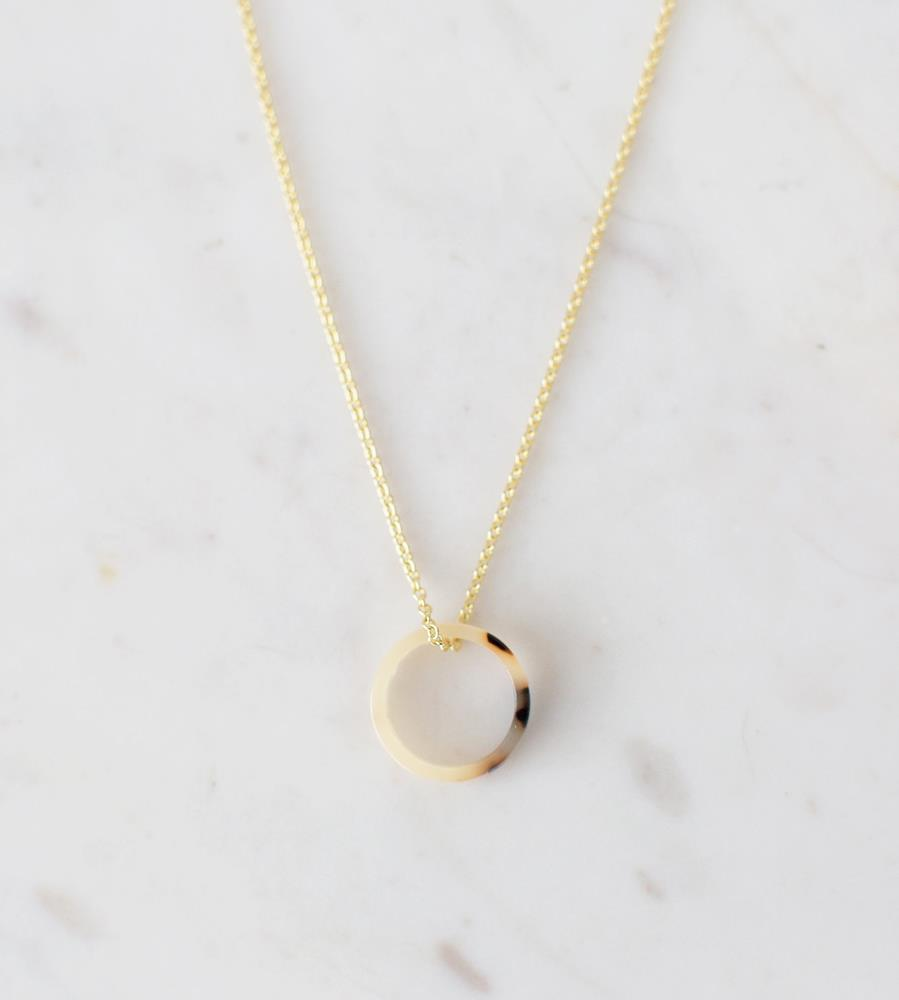 Sophie | Little Tort Necklace | Light | Gold