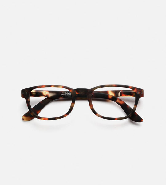 Izipizi Reading Glasses | # B | Tortoise
