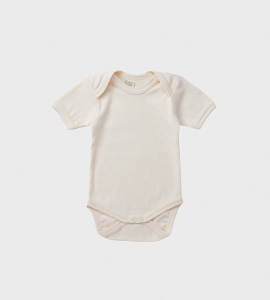 Nature Baby | Short Sleeve Bodysuit | Natural