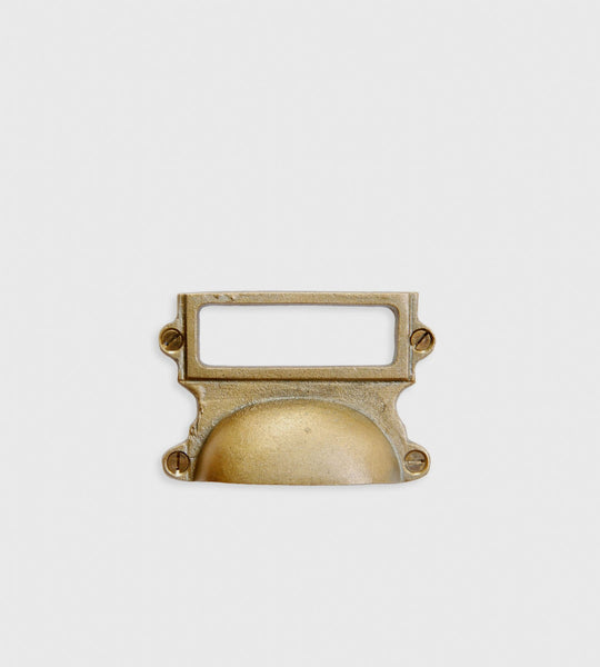 The Society Inc. | Major Drawer Pull | Brass