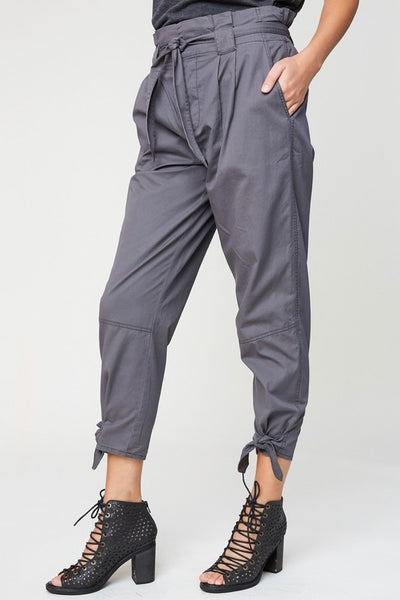 Self Tie Cargo Pants - Nofashiondeadlines