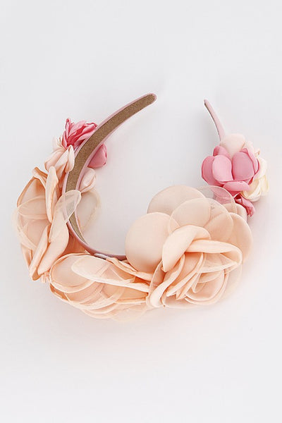 Delicate Flower Girl Head Band - Nofashiondeadlines