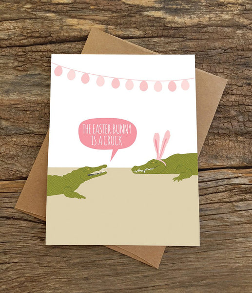 EASTER CROC CARD